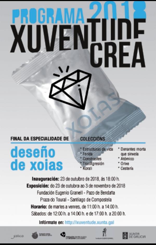 Xuventude Crea: exposición da especialidade Deseño de Xoias