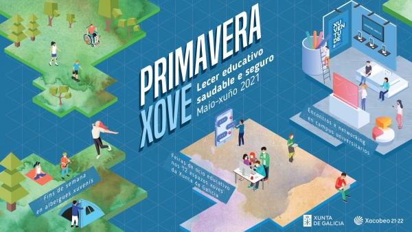 Primavera Xove, novo programa para a mocidade galega