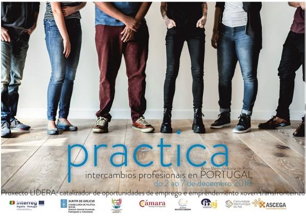 INTERCAMBIOS PROFESIONAIS GALICIA NORTE DE PORTUGAL CO PROXECTO LIDERA