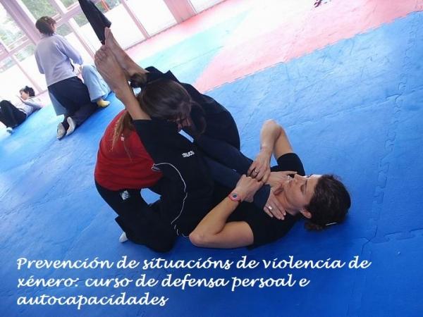 Prevención de situacións de violencia de xénero: curso de defensa persoal e autocapacidades