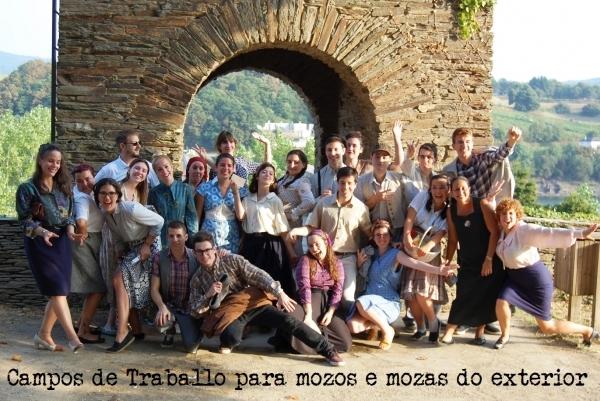 Campos de Traballo para mozos e mozas de orixe galega ou descendentes que residan no exterior