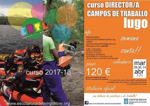 Curso de Director/a de Campos de Traballo en Semana Santa en Lugo