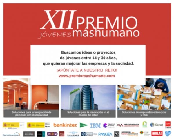 XII edición do Premio Novos máshumano
