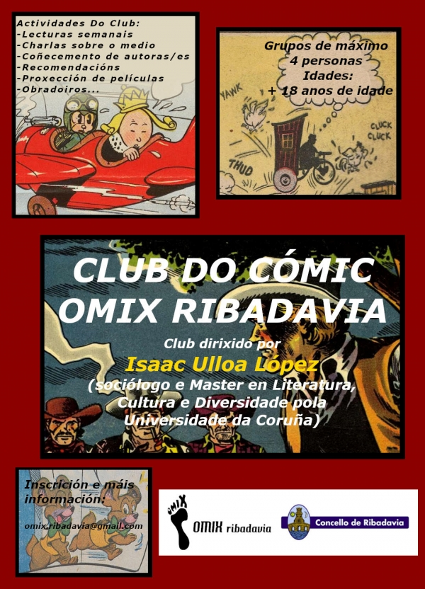 Club do Cómic en Ribadavia